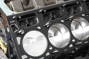 Do not add any additional chemicals to either side of an MLS head gasket. Today's sophisticated MLS gaskets feature coatings that seal minute deck surface machined finishes.