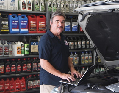 Keyes' parts purchases are made primarily based on quality and availability, with both warranties and brand name recognition running a close second