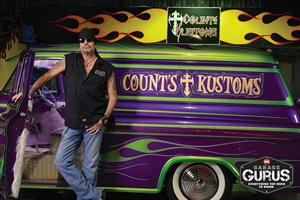 """Danny """"The Count"""" Koker will appear atthe grand opening events for Garage Gurus in the Chicago, Los Angeles and New York City areas."""