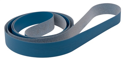 Goodson Tools & Supplies says the new Blue 800 grit belt has a film substrate, a durable Mylar joint and scrum backing.