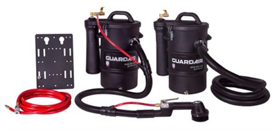 Guardair says its new non-electrical discharge (NED) pneumatic vacuum line is safe for use around combustible materials.