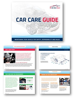 The Car Care Council's 80-page Car Care Guide helps motorists be car care aware.