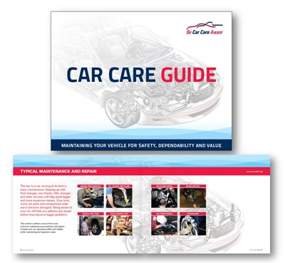 The Car Care Council has available its 80-page Car Care Guide for your customers.