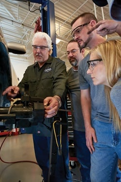 Garage Gurus helps technicians keep pace with the latest vehicle technologies through more than 100 diagnostic and repair workshops and related technical support.