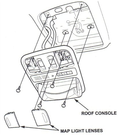 Allow the console to hang (there is no need to disconnect its wires).