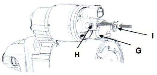 Tighten the M terminal nut to 7.8 – 11.8 Nm.