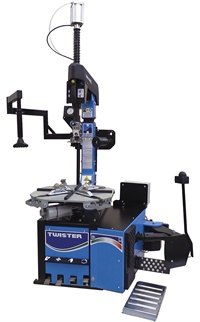 The megamount Twister tire changer is now available in the U.S.