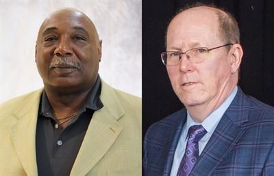 Left: Charles Harris, director of automotive aftermarket sales; rght: Ed Magruder, director of special market sales for NTN.