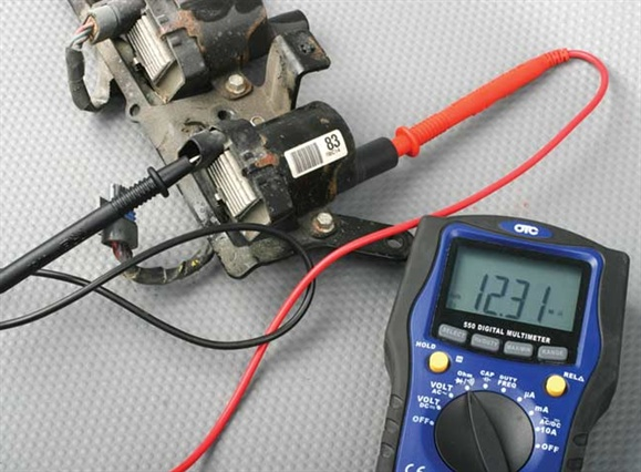 It's easy to measure the secondary resistance of an ignition coil with your DMM. The fact that there is continuity is more important than the actual resistance value.