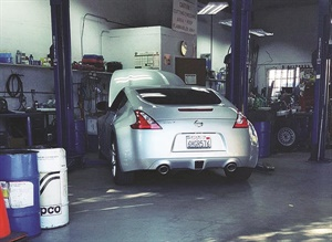 While servicing an average of only 60 to 70 vehicles per month, the shop's attention to detail and development of personal customer relationships has created a successful niche in the area's marketplace.