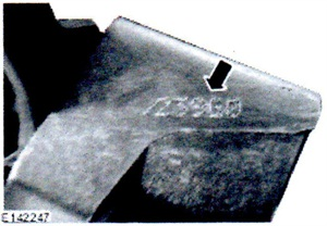 Before replacing Jag rear caliper(s), check the existing calipers for a manufacturing code.