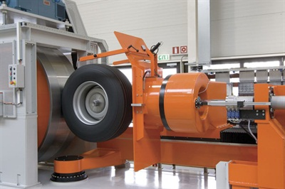 Tire sidewall stiffness is measured at the factory on every tire so it can be match-mounted.