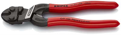 Knipex's handy pocket-sized bolt cutter offers ergonomics and high cutting power. (Courtesy of Knipex)