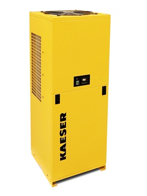 Kaiser says maintenance points are easily accessible from a new quick-release panel on the front of its latest high temperature refrigerated dryer.