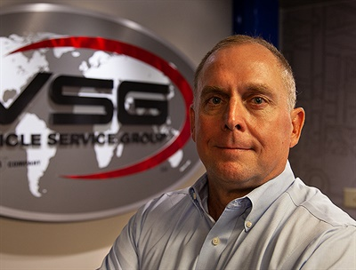 Kirk Dawson has been named vice president and general manager – the Americas for Vehicle Service Group (VSG), parent company of 13 leading equipment brands including Rotary, Chief, Forward, Ravaglioli and Direct-Lift.