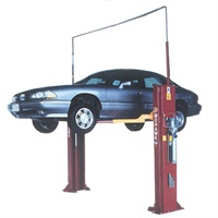 Guessing at lift points can prove costly and dangerous. Always refer to the lifting points guide for a given make, model and year vehicle. ALI offers continually updated guides.