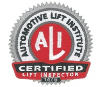 Granted, it's one more shop maintenance aspect to remember, but having your vehicle lifts inspected by an ALI-certified inspector on an annual basis can pinpoint potential problems before they occur.