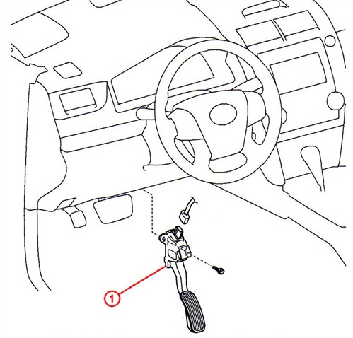 According to Lexus, don't lube the accelerator pedal assembly.