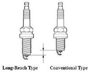 """The Lexus LS600H requires long-reach spark plugs. Running shorter """"conventional"""" plugs will result in misfiring."""