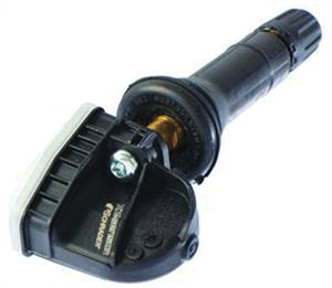 Here is an example of the newer, snap-in replacement TPMS sensor from Schrader.