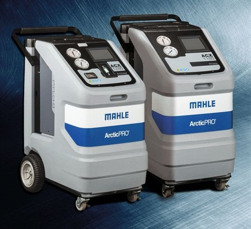 Mahle says the ArcticPro ACX1185 and ACX1285 are the first A/C service equipment fully integrated with TechPro automotive diagnostic system.