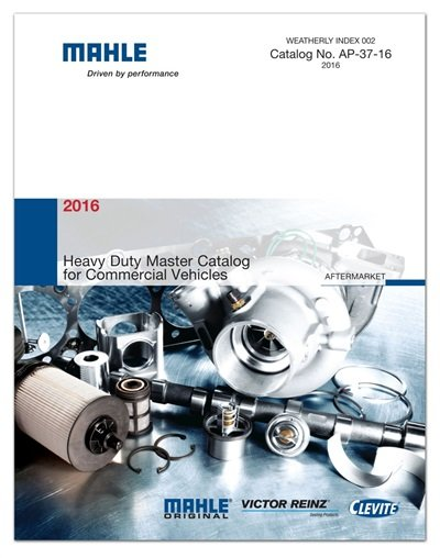 Mahle's says its 2016 Heavy Duty Catalog for Commercial Vehicles allows users to easily find parts for OE-to-Mahle interchanges.