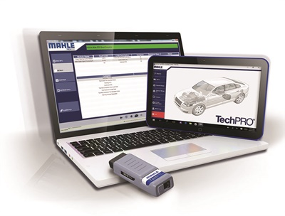 Mahle has increased vehicle coverage for its TechPro diagnostic scan tool.