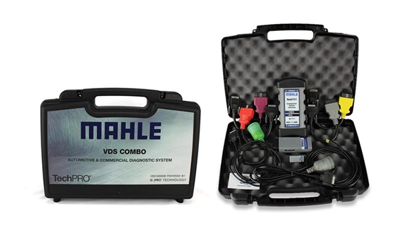 Mahle says the new TechPro Diagnostic Systems VDS Combo Kit is ideal for mixed fleets and municipalities that service a variety of vehicle sizes.