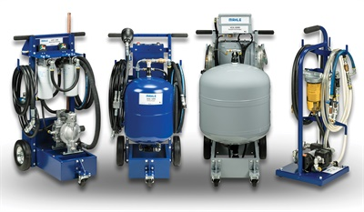 All of Mahle's new FluidPRO machines are designed to increase shop productivity.