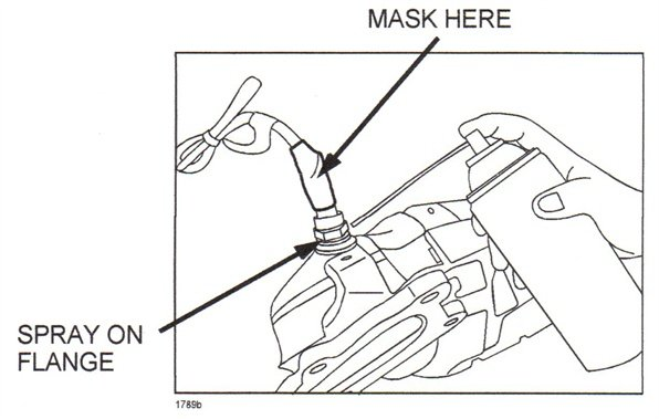 Mask the O2 sensor before spraying penetrating lubricant.