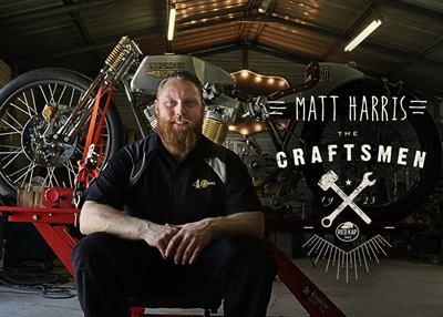 Red Kap has selected Matt Harris of 40 Cal Customs in Alcoa, Tenn., as the second builder to be featured its Craftsmen series of videos profiling custom builders.