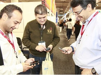 The free AAPEX Mobile App, sponsored by Midtronics, is available for Androids, iPhones and iPads and ChirpE.