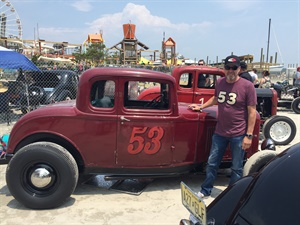 In June Mike Sneed competed in the Race of Gentlemen in Wildwood, N.J. He died Aug. 10 at age 56.