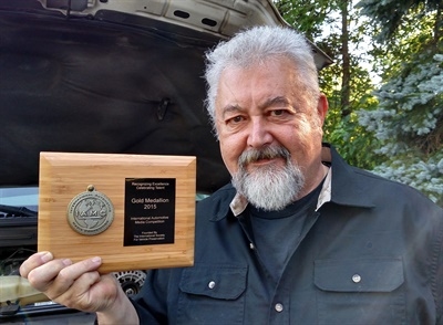 Mike Mavrigian, editor of ASP, won a gold medallion in the Technical/General categoryin the IAMC.