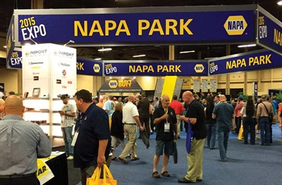 The NAPA Park was a highly attended section of the NAPA Expo.