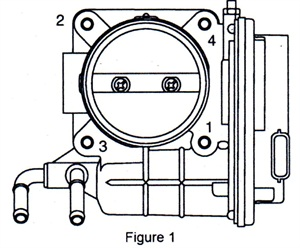 Actuator bolt loosening sequence.