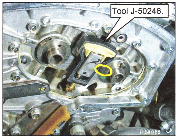 Tighten the bolt until the shoe is fully seated, but do not overtighten.