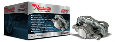 With 100% new components, no core return and lower warranty rates, Raybestos Element3 brake calipers provide hassle-free installation and optimal performance.