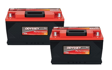 EnerSys says the new Odyssey Performance Series Group 49 and 94R batteries provide various Jeep, Dodge, Chevrolet, and some BMW and Mercedes-Benz vehicles with an effective battery replacement solution.