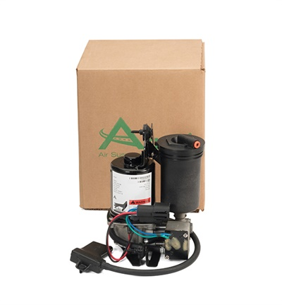 Arnott's P-2936 air suspension compressor (pictured) from Arnott features an integrated dryer; the P2932 compressor includes a new relay.