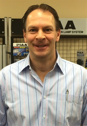 PIAA's new National Sales Manager is Mark Warwick, a graduate of Xavier University in Cincinnati, where he received a Bachelor of Science degree in Business Administration and Marketing.
