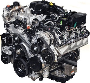 Shown above is the Ford Powerstroke 6.0L, featured in 2003-2009 vehicles. Photo courtesy Ford Motor Co.