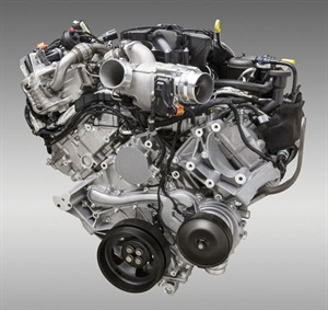 Powerstroke 6.7L, featured in 2011 to date. Photo courtesy Ford Motor Co.