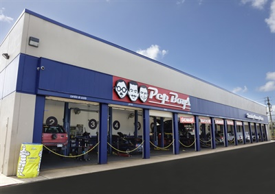 There are now 33 Pep Boys Service Centers in Puerto Rico.