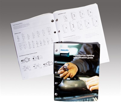 The new Philips automotive lighting specification guide helps sales personnel provide customers with the technical details they need to quickly and accurately select their automotive replacement lamps.