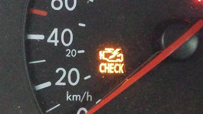 The check engine light was glowing away on this troublesome Volkswagen Beetle.
