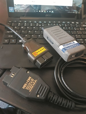 Among the numerous tools in my shop's arsenal, these are my three favorite generic OBD-II scanners that I use, even though one is a specialized VW/Audi tool (its OBD-II capabilities are fabulous).