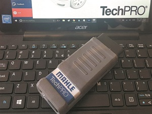 This Mahle scanner provides quick access to the OBD-II system and will even provide a printout to give to the customer before and after a repair.