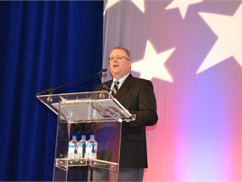 Tim Rogers, Polk president, covered industry trends at the 2012 AAIA Town Hall.