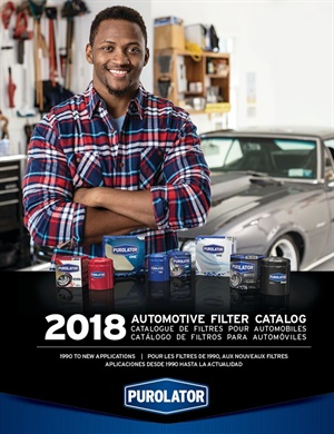 The new Purolator filter catalog is available in trilingual print and online versions.